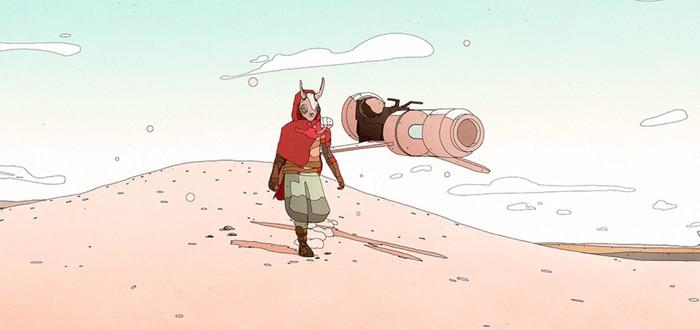 Новый геймплей адвенчуры Sable в стилистике студии Ghibli