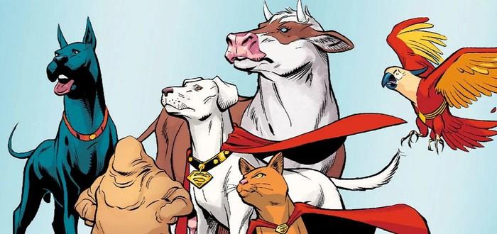 Кевин Харт и Киану Ривз сыграют в мультфильме про животных-супергероев