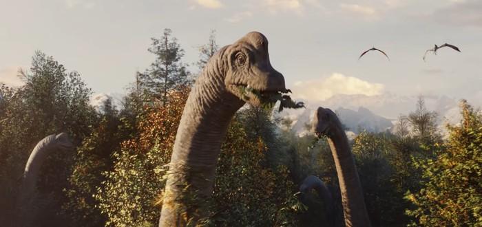 Динозавры захватывают планету в первом трейлере Jurassic World Evolution 2