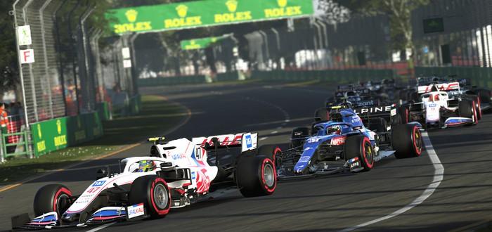 Первые скриншоты рейсинга F1 2021