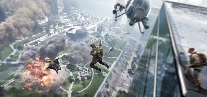 Три секунды геймплея Battlefield 2042