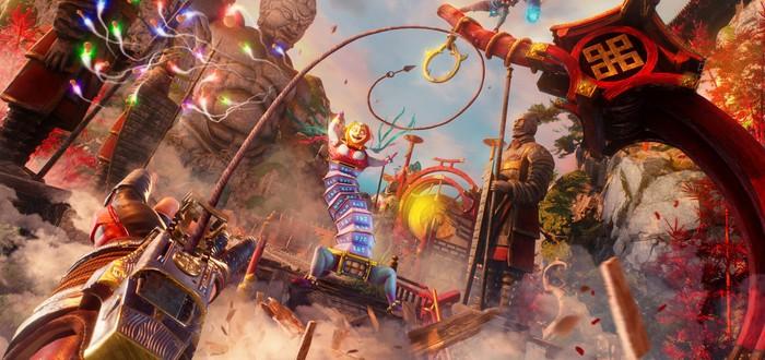 Кровища и хаос во втором геймплейном трейлере Shadow Warrior 3
