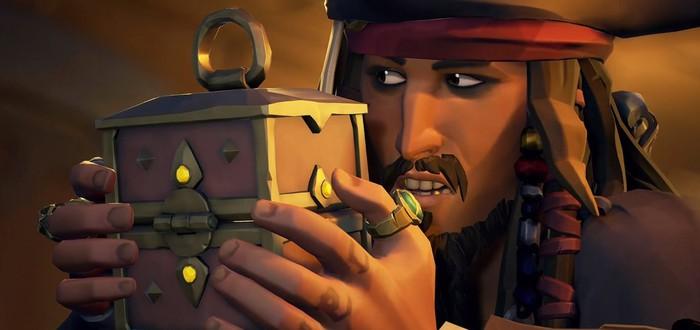 """В Sea of Thieves появится кроссовер с """"Пиратами Карибского моря"""""""