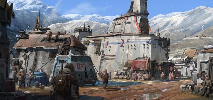 Джунгли, мегаполисы и пустынные планеты на концепт-артах Starfield