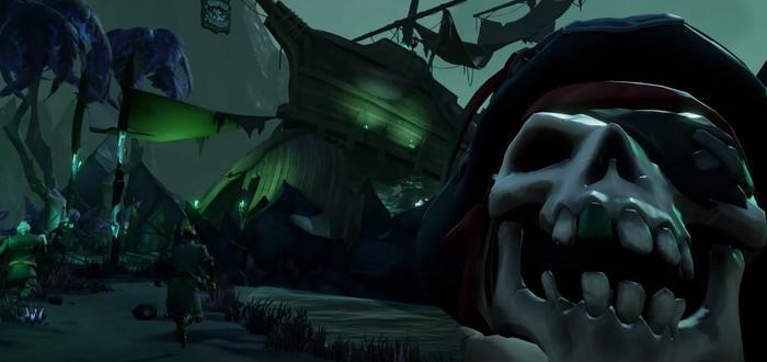 Морские баталии в геймплейном трейлере дополнения A Pirate's Life для Sea of Thieves