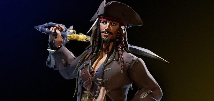Самые важные детали с презентации дополнения Sea of Thieves с Джеком Воробьем