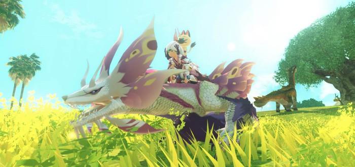 Тактические сражения и яркий мир в геймплее Monster Hunter Stories 2