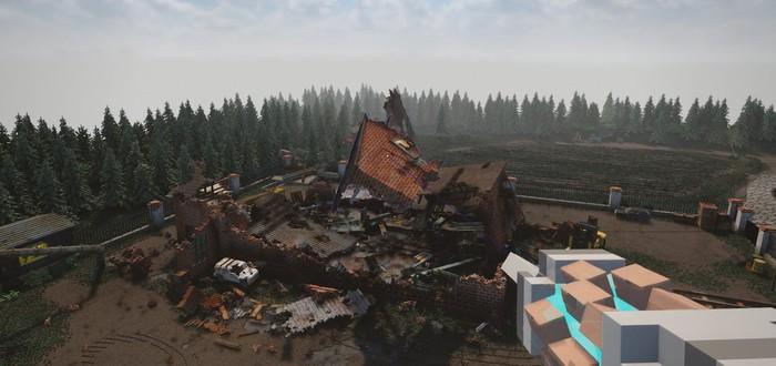 Жуткие роботы будут новой проблемой игроков в Teardown