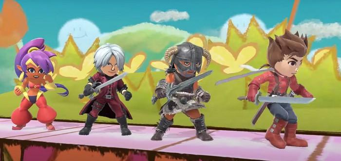 В Super Smash Bros. Ultimate добавят костюмы Данте и Довакина