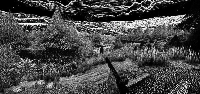 Перестрелки в черно-белом мире, нарисованном от руки, в трейлере шутера Kingdom of the Dead