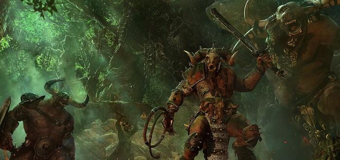 Изменения зверолюдов в ролике Total War: Warhammer 2