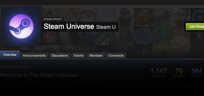 Steam Universe запущена для поддержки SteamOS, SteamBox и прочего