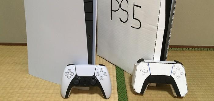 Геймер выбросил картонную PS5 после покупки настоящей консоли