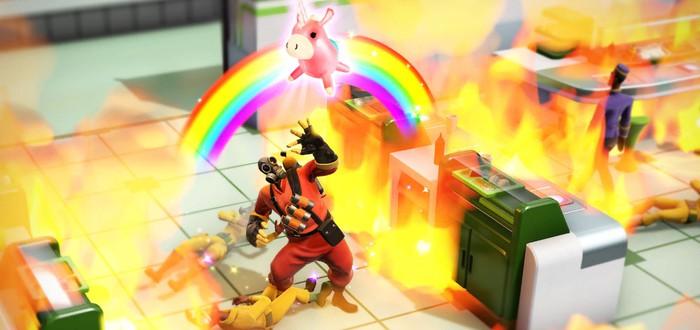 В Evil Genius 2 появился поджигатель из Team Fortress 2