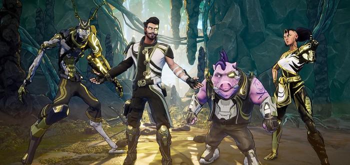 Безумный кооперативный экшен Space Punks вышел в раннем доступе Epic Games Store