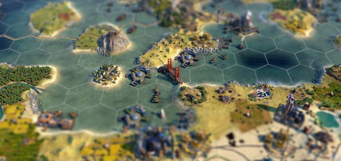 """Игрок Civilization 6 похвастался идеальным расположением моста """"Золотые ворота"""""""