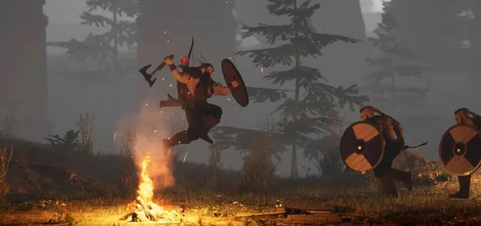 Огромный дракон, летающий топор и мрачный мир в новом трейлере Song of Iron