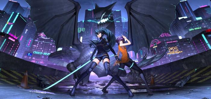 Мрачный антиутопичный пиксельный город в геймплее Anno: Mutationem