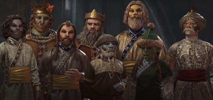 Геймплейный трейлер Elder Kings 2 — фанатского мода для Crusader Kings 3 по мотивам The Elder Scrolls
