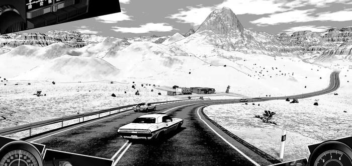 Черно-белое приключение по США в трейлере рейсинга Heading Out