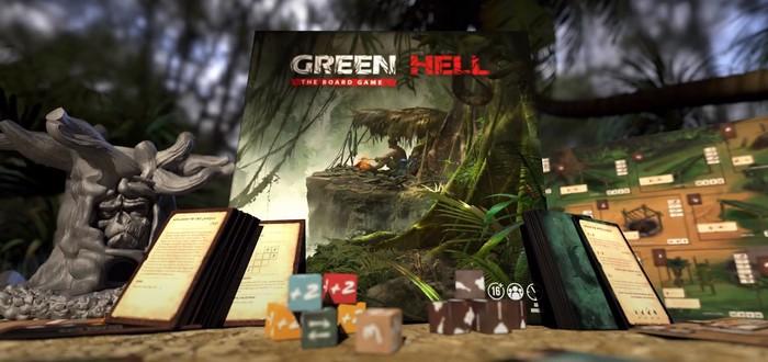 Стартовал сбор средств на настольную игру по мотивам Green Hell