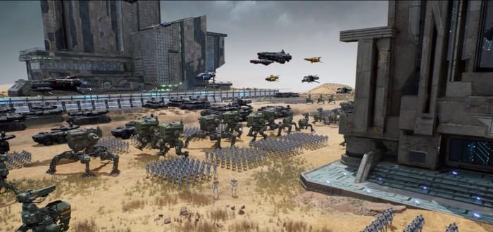 Строительство города и огромных армий роботов в трейлере стратегии City of Robots