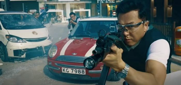 Быстрый и яркий экшен в трейлере азиатского боевика Raging Fire