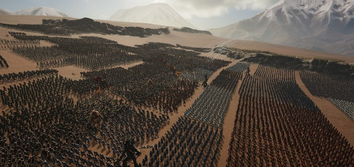 Десятки тысяч рыцарей против орков в первом трейлере Epic Fantasy Battle Simulator