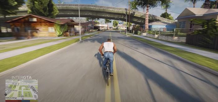 Вот как выглядят запрещенные ремастеры GTA San Andreas и Vice City
