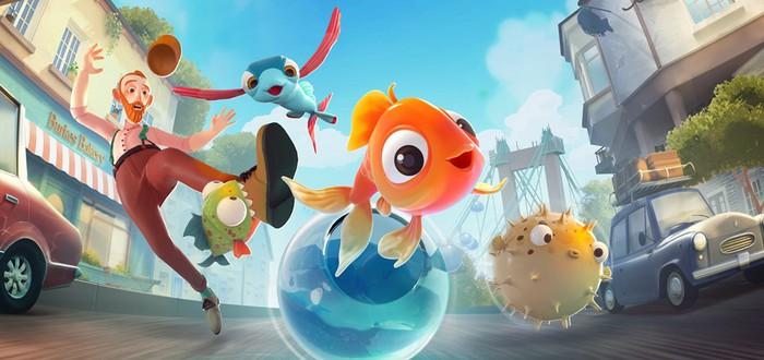Весёлый симулятор рыб I Am Fish от студии Bossa Studios выйдет в середине сентября