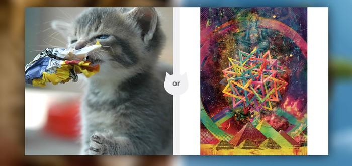 Котята против искусства