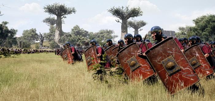 Масштабная битва с Карфагеном в первом трейлере стратегии Roman Empire Wars