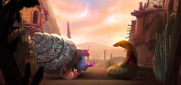 Тактические сражения, раса слонов-гуманойдов и пустынный мир в трейлере рогалика Sandwalkers
