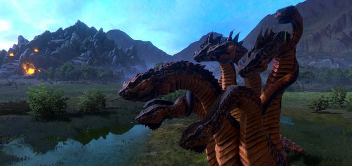 Геймплейный трейлер дополнения Mythos для Total War Saga Troy