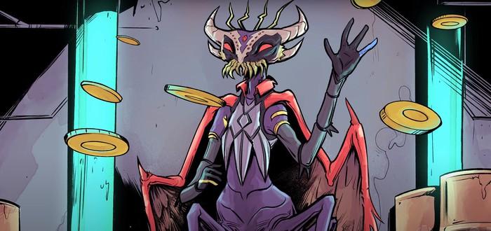 Анонсирован Grim Tranquility — научно-фантастический рогалик о борьбе против инопланетных чиновников