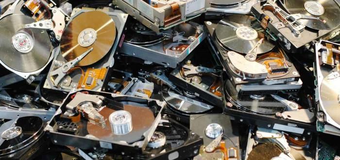 Майнеры начали распродавать убитые HDD из-за падения криптовалюты Chia