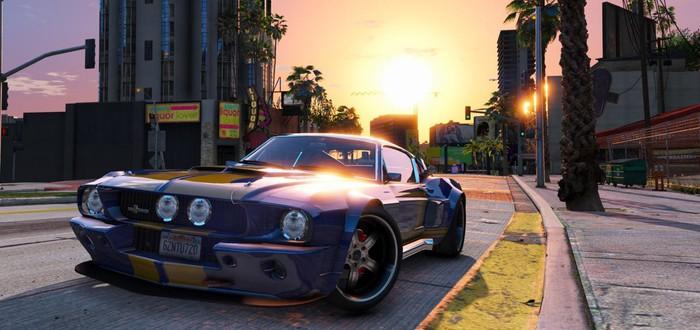 Версия GTA V для PS5 выйдет в марте 2022 года