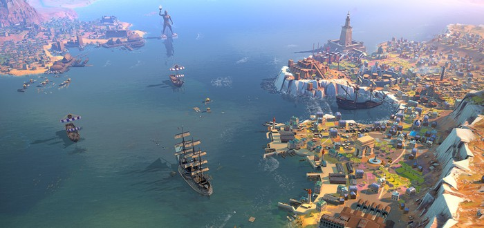 В Humankind начнут тестировать морские осады