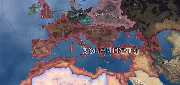 Спидраннер Hearts of Iron 4 возродил Римскую Империю всего за 9 игровых месяцев