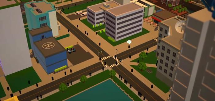 Строительство и управление городом в трейлере ретро градостроительной стратегии Silicon City