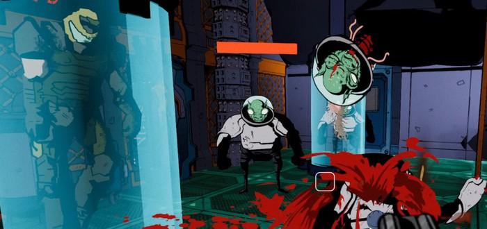Перестрелки в стиле комиксов в трейлере шутера-метроидвании Chains of Fury