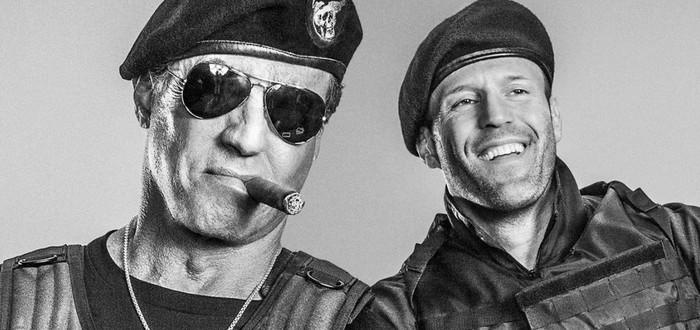"""Снова вместе: Сильвестр Сталлоне и Джейсон Стейтем на первом фото со съемок """"Неудержимых 4"""""""