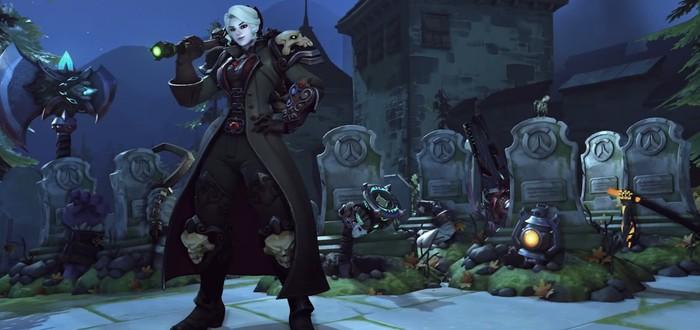 """Вампиры, пираты и клоуны в трейлере события """"Ужасы на Хеллоуин"""" для Overwatch"""