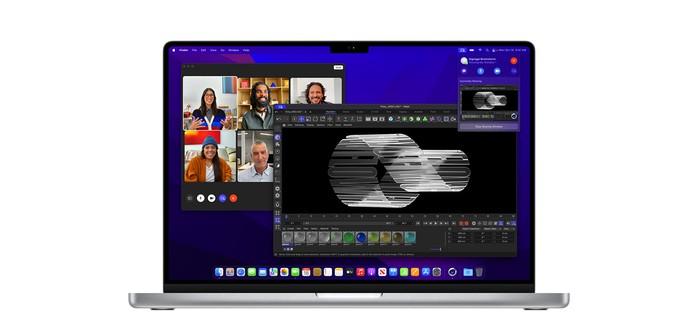Apple анонсировала новые MacBook Pro — теперь с челкой посреди дисплея