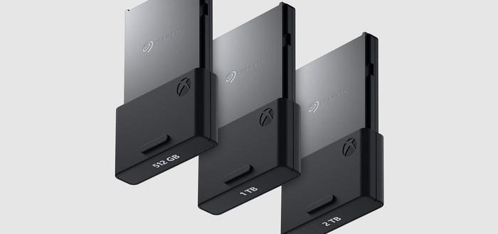 Microsoft анонсировала карточки расширения на 512 ГБ и 2 ТБ для Xbox Series