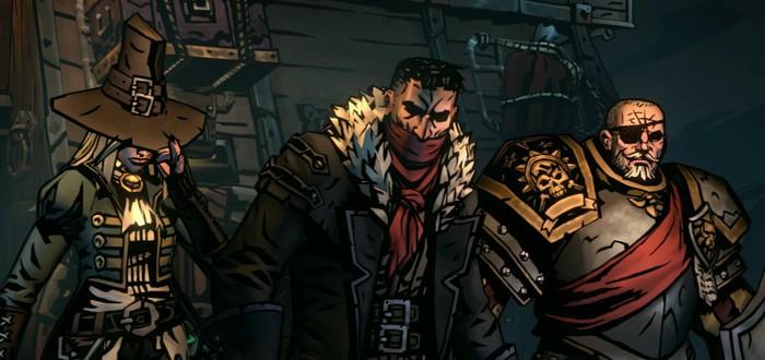 Мрачный мир, набор команды, изучение мира и сражения в стартовом геймплее Darkest Dungeon 2