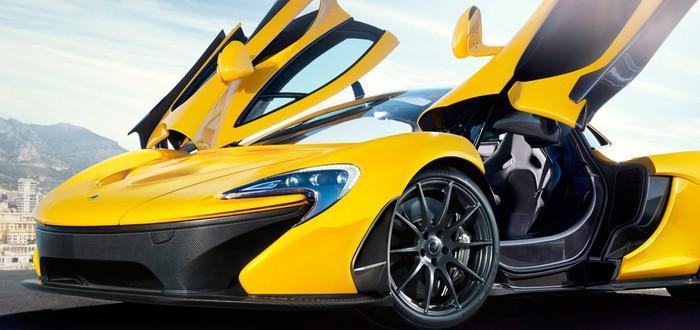 Новенький суперкар McLaren P1 быстрее чем Porsche и Ferrari