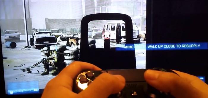 Battlefield 3 запустили с DualShock 4 на PS3