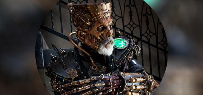 Steampunk монстр Франкенштейна