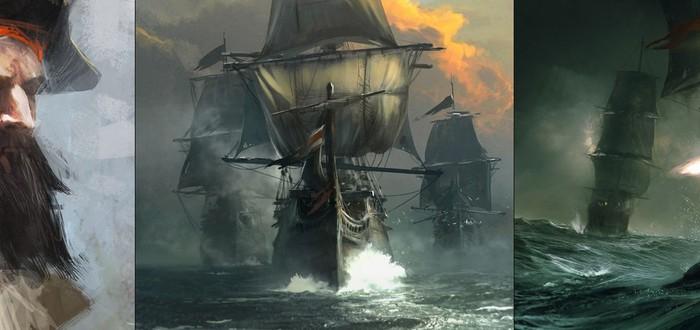 Концепты Assassin's Creed 4 – тусклые, загадочные Карибы